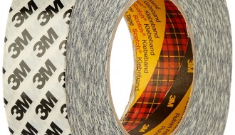 3M 9086 TRANSPARENT DOUBLE SIDED TISSUE TAPE ( 25mm x 50m x 0.19mm )