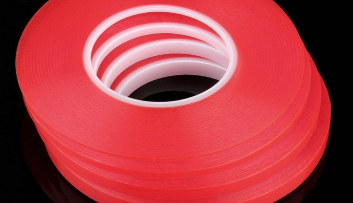 3M CLEAR DOUBLE SIDED PLASTIC TAPE ( 19mm x 55m x 0.36mm )