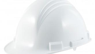 3M WHITE PUSH LOCK HARD HAT M-601 R