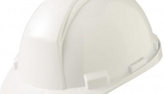 3M WHITE SLIDE LOCK HARD HAT M-601 S