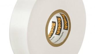 3M Scotch 27 Glass White Cloth Tape 12mm x 55m 0.177mm Thick