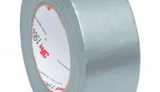 3M™ 1900 PE Coated Silver Duct Tape (50m x 50mm x 0.17mm)
