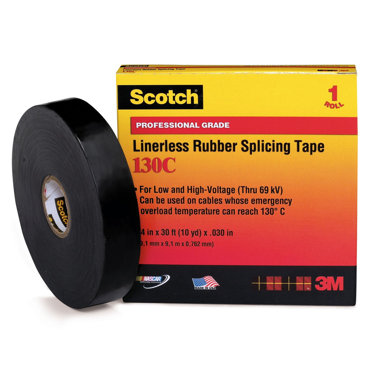 Rubber Splicing Tape Isolasi 3m Scouth 23 Spicing Scotch Black Ethylene Propylene Electrical Insulation 1500x1500