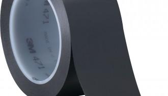 3M Black Vinyl Electrical Insulation Tape 471