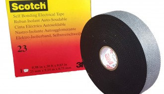 3M Scotch 23 Black Self Amalgamating Tape