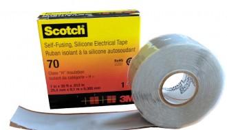 3M Scotch ™70 Sky Blue Self Amalgamating Tape (25mm x 9.1m)