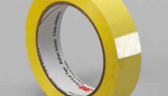 3M Yellow PET Electrical Insulation Tape 74
