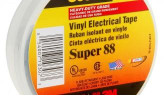 3M Scotch® Professional Grade Vinyl Electrical Tape Super 88
