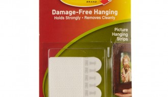 3M White Picture Hanging Strips 17202CH, 158mm x 460mm