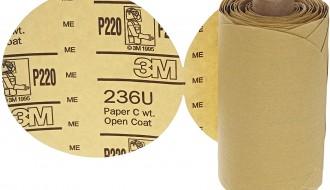 3M™ Stikit™ Paper Disc Roll 236U 5 in x NH – G180